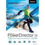 CyberLink PowerDirector 15 Ultra Vollversion ESD   1 PC  ( Online Download )