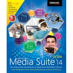 CyberLink Media Suite 14 Ultra Vollversion ESD   1 PC  ( Online Download )